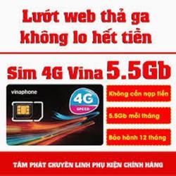 SIM VINA D500 SIM 4G TRỌN GÓI 1 NĂM THOẢI MÁI LƯỚT WEB