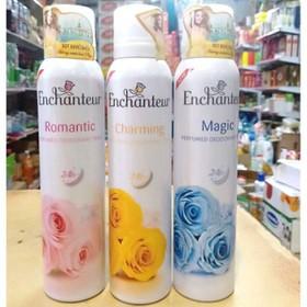 Xịt khử mùi hương nước hoa Enchanteur 150ml. - xịt Enchanteur 150ml