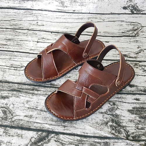 Dép sandal da nam đẹp