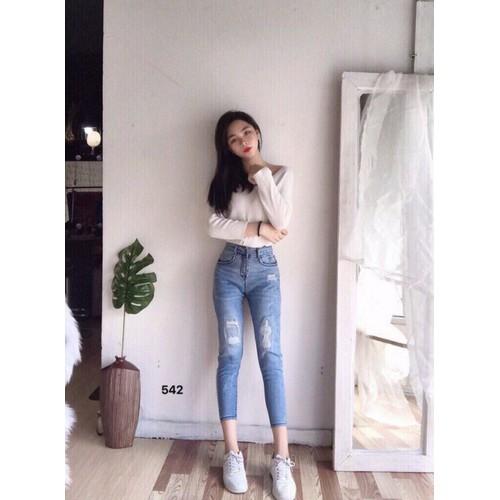 Quần jeans nữ đẹp giá rẻ - 20229324 , 21918911 , 15_21918911 , 165000 , Quan-jeans-nu-dep-gia-re-15_21918911 , sendo.vn , Quần jeans nữ đẹp giá rẻ