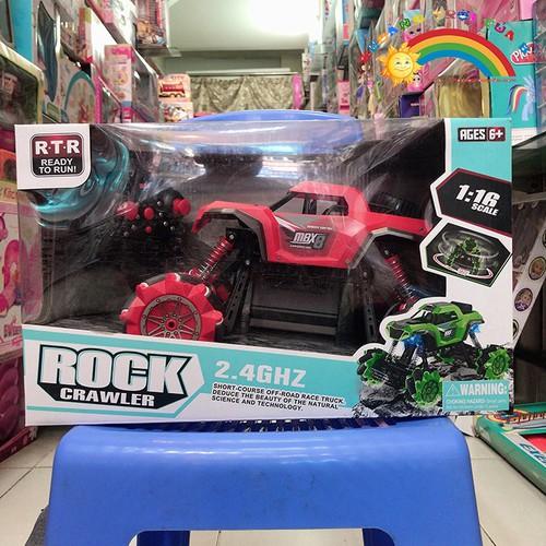 Bán đồ chơi xe điều khiển vượt chướng ngại vật màu đỏ [đồ chơi an toàn]