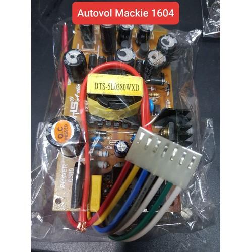 Nguồn autovol thay thế mixer mackie 1604