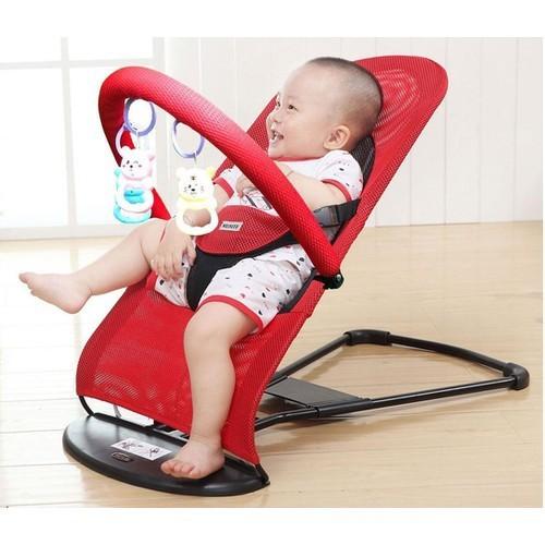 Ghế rung - ghế nhún cho bé mẫu mới nhất có kèm đồ chơi