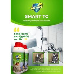 Dung dịch tẩy rửa cặn canxi trên bề mặt sen vòi inox SMART TC 500ml