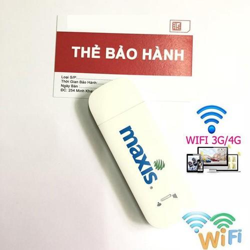 Usb phát wifi từ sim 3g 4g maxis tốc độ cao ,sử dụng đa mạng