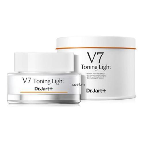 Kem v7, kem dưỡng da v7 tonight light dr.jart, hộp thiếc dung tích lớn 50ml