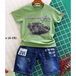 sét áo thun nam xe tăng và quần jean