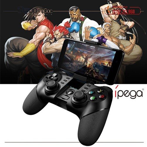 Tay cầm chơi game bluetooth ipega pg-9076 dành cho ps3, android, ios, windows