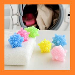 [ 10 -20 trái ] banh giặt đồ mini - set 10 bóng cao su viên giặt quần áo tiện dụng