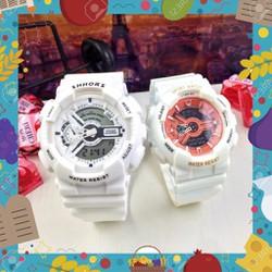 Có Size Nhỏ Đồng hồ thể thao nam nữ Sport Watch Shhors chính hãng Viethoang019