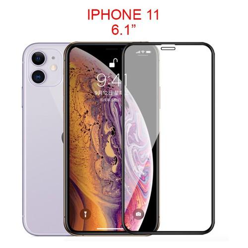Miếng dán cường lực full màn hình iphone 11