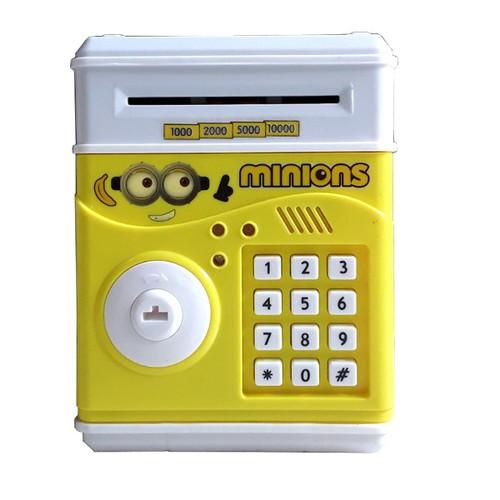 Siêu rẻ két sắt thông minh mini hình minion có khoá