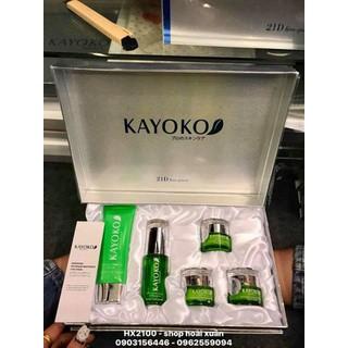 Bộ kem Kayoko 21D five - piece 5in1 trị nám da tàn nhang Nhật Bản - HX2100 - HX2100 thumbnail