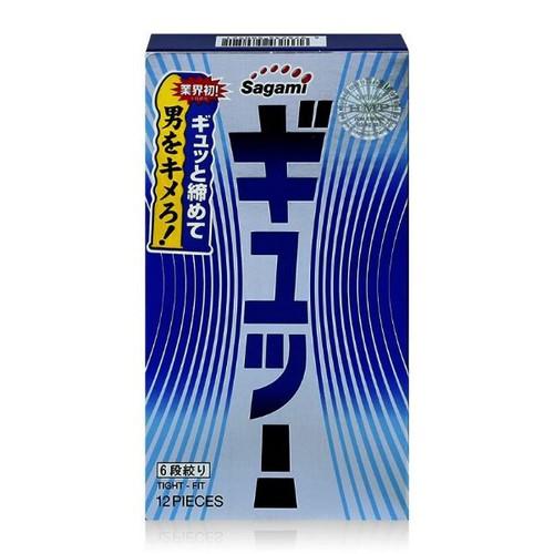 Bao cao su sagami tight fit 6 lượn sóng - hộp 12 chiếc - 17643758 , 21961208 , 15_21961208 , 120000 , Bao-cao-su-sagami-tight-fit-6-luon-song-hop-12-chiec-15_21961208 , sendo.vn , Bao cao su sagami tight fit 6 lượn sóng - hộp 12 chiếc
