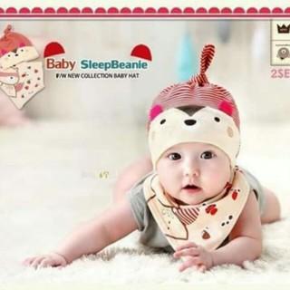 mũ và yếm cho bé - M012 thumbnail