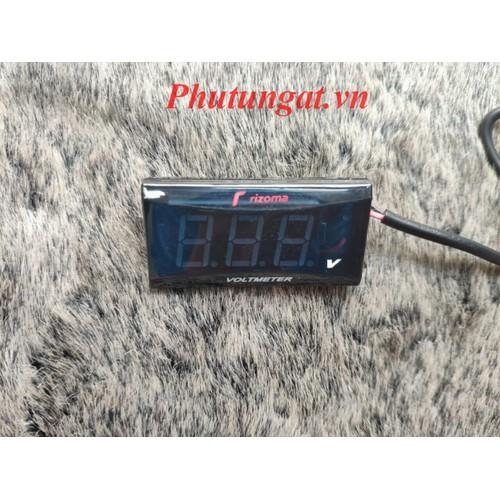Đồng hồ vuông đo volt bình rizoma cho xe máy - 17644013 , 21961511 , 15_21961511 , 99000 , Dong-ho-vuong-do-volt-binh-rizoma-cho-xe-may-15_21961511 , sendo.vn , Đồng hồ vuông đo volt bình rizoma cho xe máy