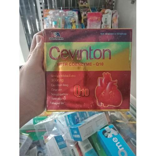 Cevinton q10 hoạt huyết bổ não hộp 100v