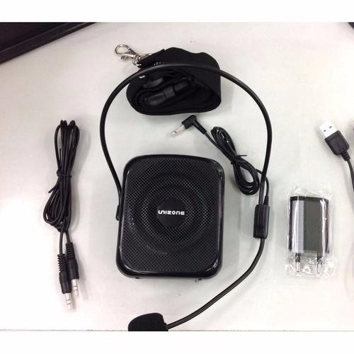 Máy trợ giảng unizone 9088- kèm mic gài tai không dây