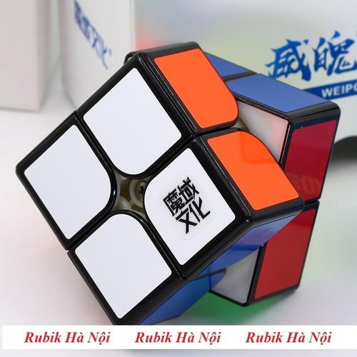 Rubik 2x2x2 moyu weipo wr đen