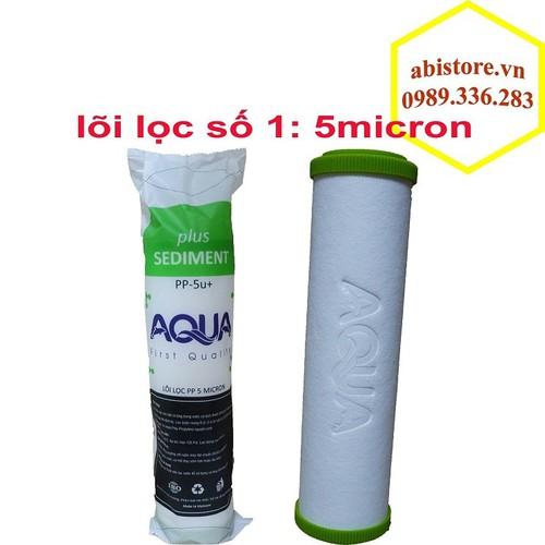 [Giá hủy diệt] lõi lọc nước số 1 pp 5micron cao cấp aqua