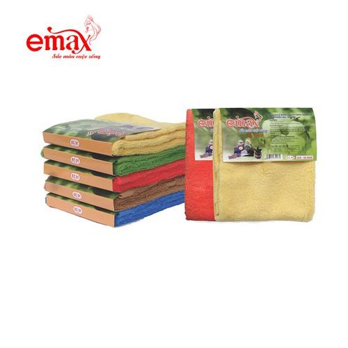 Khăn mặt emax chất liệu cotton ec01 hàng đẹp giá rẻ size 30x46 cm