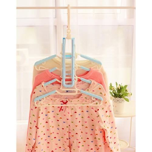 Móc treo quần áo xuất nhật 8 móc