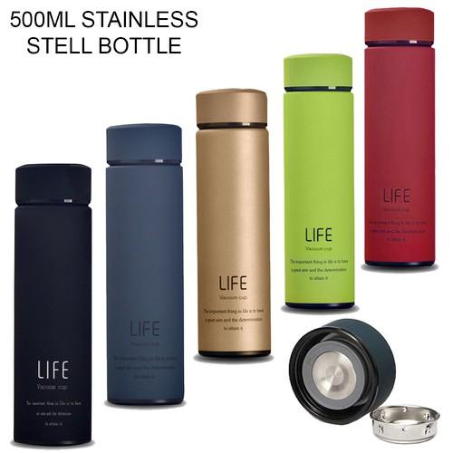 Bình giữ nhiệt vacuum flask life 3 lớp 500ml