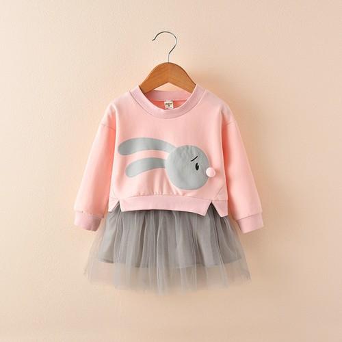 Đầm liền áo nỉ dài tay phối chân váy công chúa thỏ db013-hồng - 17651350 , 21971196 , 15_21971196 , 250000 , Dam-lien-ao-ni-dai-tay-phoi-chan-vay-cong-chua-tho-db013-hong-15_21971196 , sendo.vn , Đầm liền áo nỉ dài tay phối chân váy công chúa thỏ db013-hồng