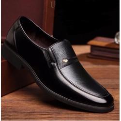 Giày lười nam da bò nguyên tấm  ,BẢO HÀNH 12 THÁNG , đẳng cấp đấng mày râu