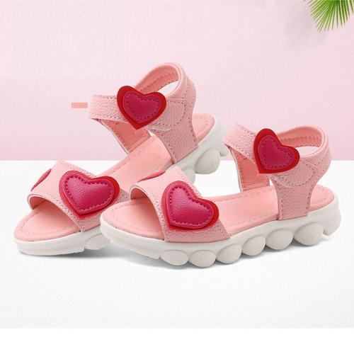 Sandal bé gái dép quai hậu cho bé gái đi học siêu xinh 20813