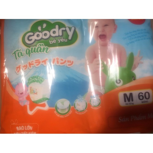 Tã quần goodry m60