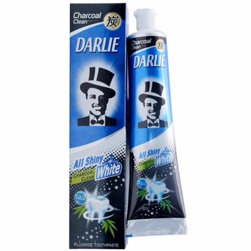 Siêu rẻ kem đánh răng darlie charcoal trắng sáng 160g