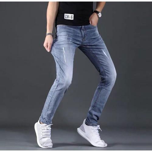 Quần jeans nam đơn giản