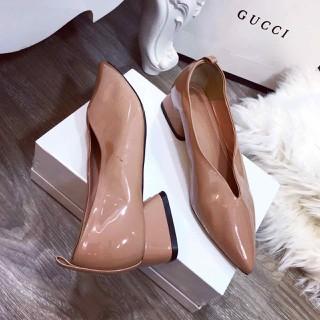 Giày gót vuông mũi nhọn cực xinh - jgh2864 thumbnail