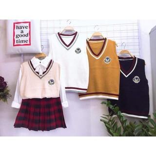 Áo len gilê thời trang Hàn Quốc - gl1 thumbnail