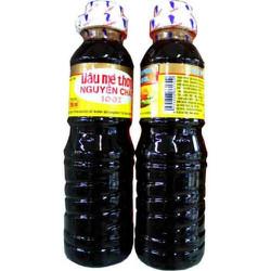 2 CHAI Dầu mè thơm nguyên chất Nakydaco chai nhựa 250ml