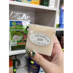 LỐC 12 XÀ BÔNG TẮM SOAP SỮA GẠO THÁI LAN