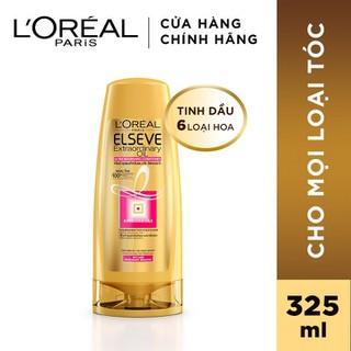 Dầu xả chiết xuất tinh dầu hoa tự nhiên L Oreal Paris Elseve Extraordinary Oil Ultra Nourishing 325ml - 8992304068003 thumbnail