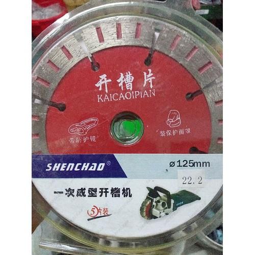 Vỉ 5 lưỡi cắt gạch shenchao 125mm chuyên lắp máy cắt gạch 5 lưỡi - 19404789 , 22001518 , 15_22001518 , 350000 , Vi-5-luoi-cat-gach-shenchao-125mm-chuyen-lap-may-cat-gach-5-luoi-15_22001518 , sendo.vn , Vỉ 5 lưỡi cắt gạch shenchao 125mm chuyên lắp máy cắt gạch 5 lưỡi
