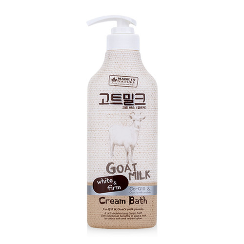 Kem tắm chiết xuất sữa dê made in nature goat milk cream bath 450ml - 19401251 , 21995718 , 15_21995718 , 299000 , Kem-tam-chiet-xuat-sua-de-made-in-nature-goat-milk-cream-bath-450ml-15_21995718 , sendo.vn , Kem tắm chiết xuất sữa dê made in nature goat milk cream bath 450ml