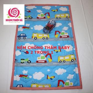 Nệm chống thấm cho bé nệm chống thấm cotton không nóng bí - NCT3110 thumbnail