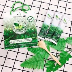 Combo 10 Hộp Cà phê xanh giảm mỡ Thiên Nhiên Việt hộp 10 gói - Tem điện tử
