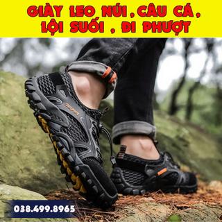 Giày Đi Câu Cá - Giày Lưới Chịu Nước - Giày Leo Núi - Giày Đi Biển - MS16 - 02 thumbnail