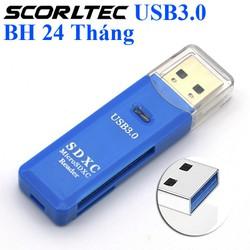Đầu Đọc thẻ nhớ USB 3.0, Thẻ Nhớ MicroSD, TF, SDHC, Hàng chất lượng BH 24 Tháng