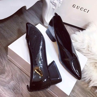Giày gót vuông mũi nhọn cực xinh - dh9275 thumbnail