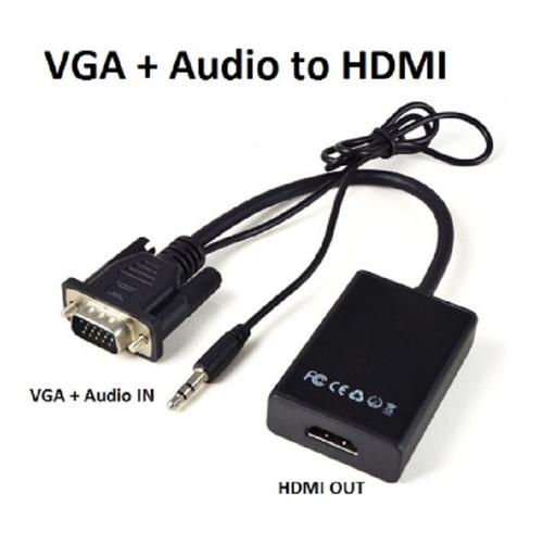 Combo 5 cáp chuyển đổi vga ra hdmi có âm thanh đen full hd1080p - 19404779 , 22001505 , 15_22001505 , 550000 , Combo-5-cap-chuyen-doi-vga-ra-hdmi-co-am-thanh-den-full-hd1080p-15_22001505 , sendo.vn , Combo 5 cáp chuyển đổi vga ra hdmi có âm thanh đen full hd1080p