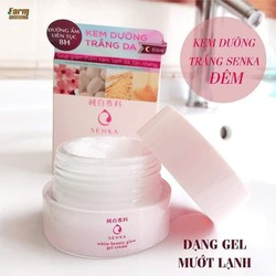 Kem Dưỡng Ẩm Trắng Da Senka White Beauty Glow Gel Cream