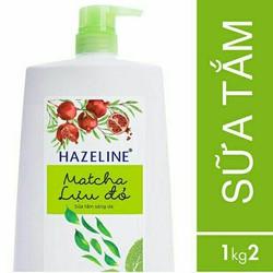 Sữa Tắm Dưỡng Sáng Da Hazeline Matcha & Lựu Đỏ 1.2kg