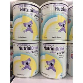 Sữa bột NutriniDrink vanilla 400g- cho trẻ suy dinh dưỡng - sua bột suy dinh dưỡng