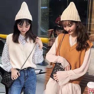 Áo gilê len bánh bèo - gl42 thumbnail
